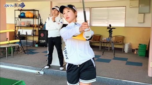 プロテスト合格を目指す井上莉花に内藤雄士がライン出しショットを伝授!