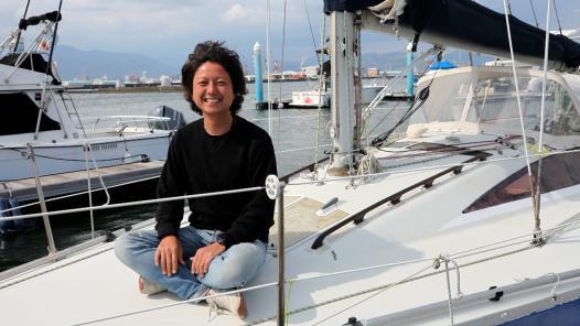 """究極の働き方""""ヨット暮らし""""セーリングで富士山に癒やされ リモートワークの限界に挑戦!"""